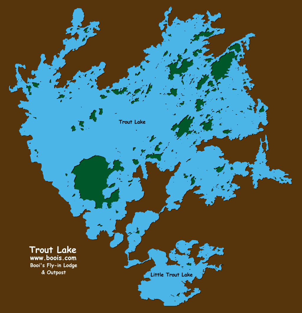 Map of Trout Lake